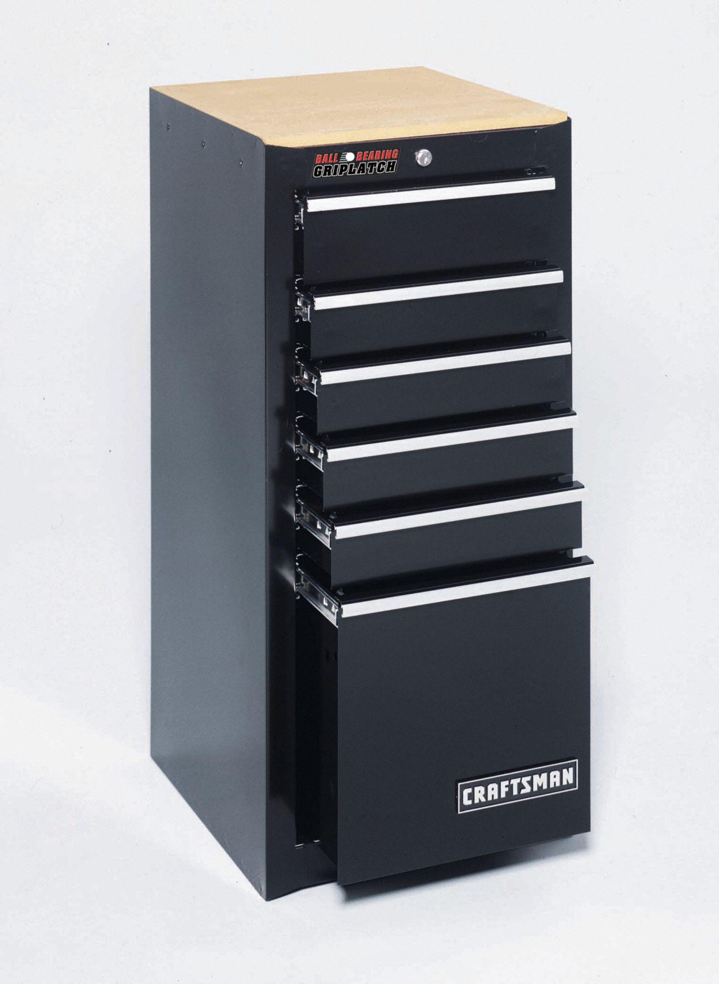 Craftsman Black Side Cabinet 35 1 4 Quot H X 15 3 4 Quot W X 18