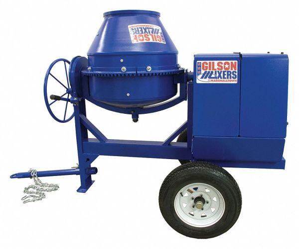 Marshalltown Concrete Mixer 6 Cu. Ft. Honda Gas 8hp - 18f334 Mix59289 Grainger