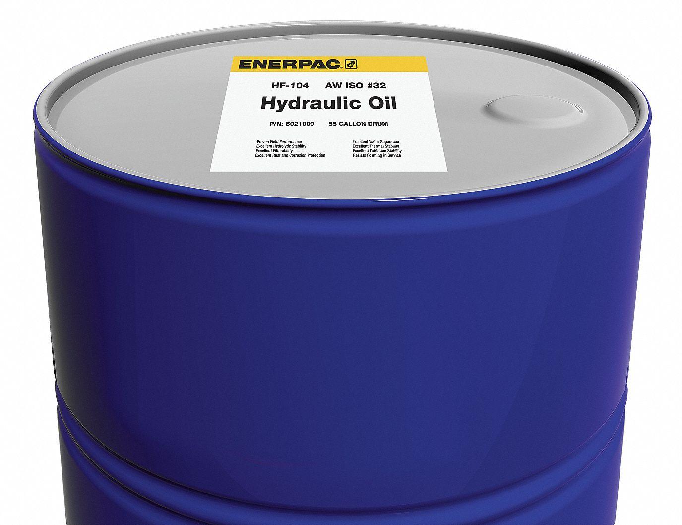 hydraulic oil 55 gal