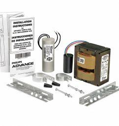 advance metal halide hid ballast kit 100 max lamp watts 120 208 240 277 v pulse ballast start type 3v555 71a5390 001d grainger [ 1041 x 1041 Pixel ]