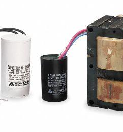 philips advance high pressure sodium hid ballast kit 150 max lamp watts 120 208 240 277 v pulse ballast start ty 1a032 71a8172 001d grainger [ 1331 x 767 Pixel ]