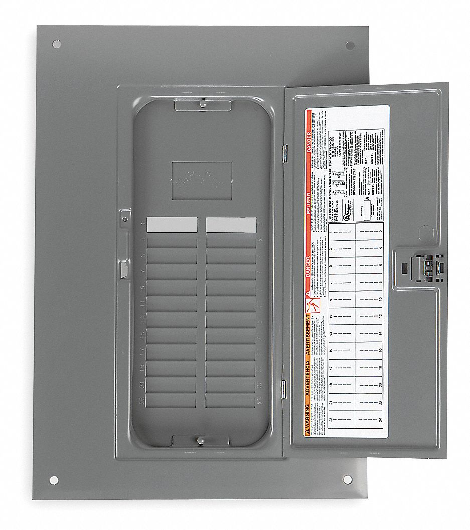 Amp Breaker Fuse Box Square D Cover Flush Mounting Style For Use With Qo