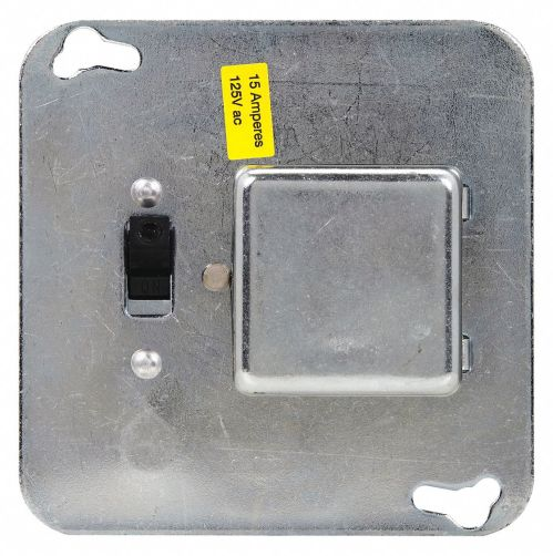 small resolution of eaton bussmann plug fuse box cover unit 4 square box type 15 amps ac 125vac voltage 1dl58 ssy grainger