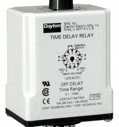 dayton single function timing relay 120vac dc 10a 240v 11 pins [ 798 x 1125 Pixel ]