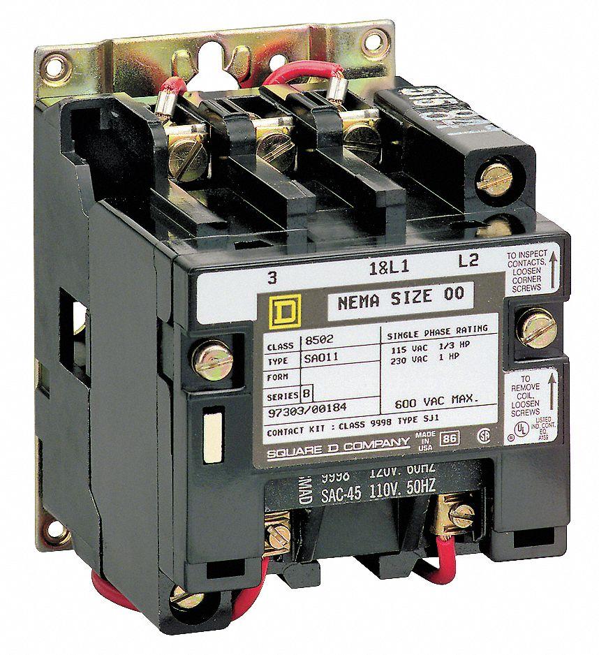 medium resolution of square d 208vac nema magnetic contactor no of poles 2 reversing no 45 full load amps 2mna5 8502sdo1v08 grainger