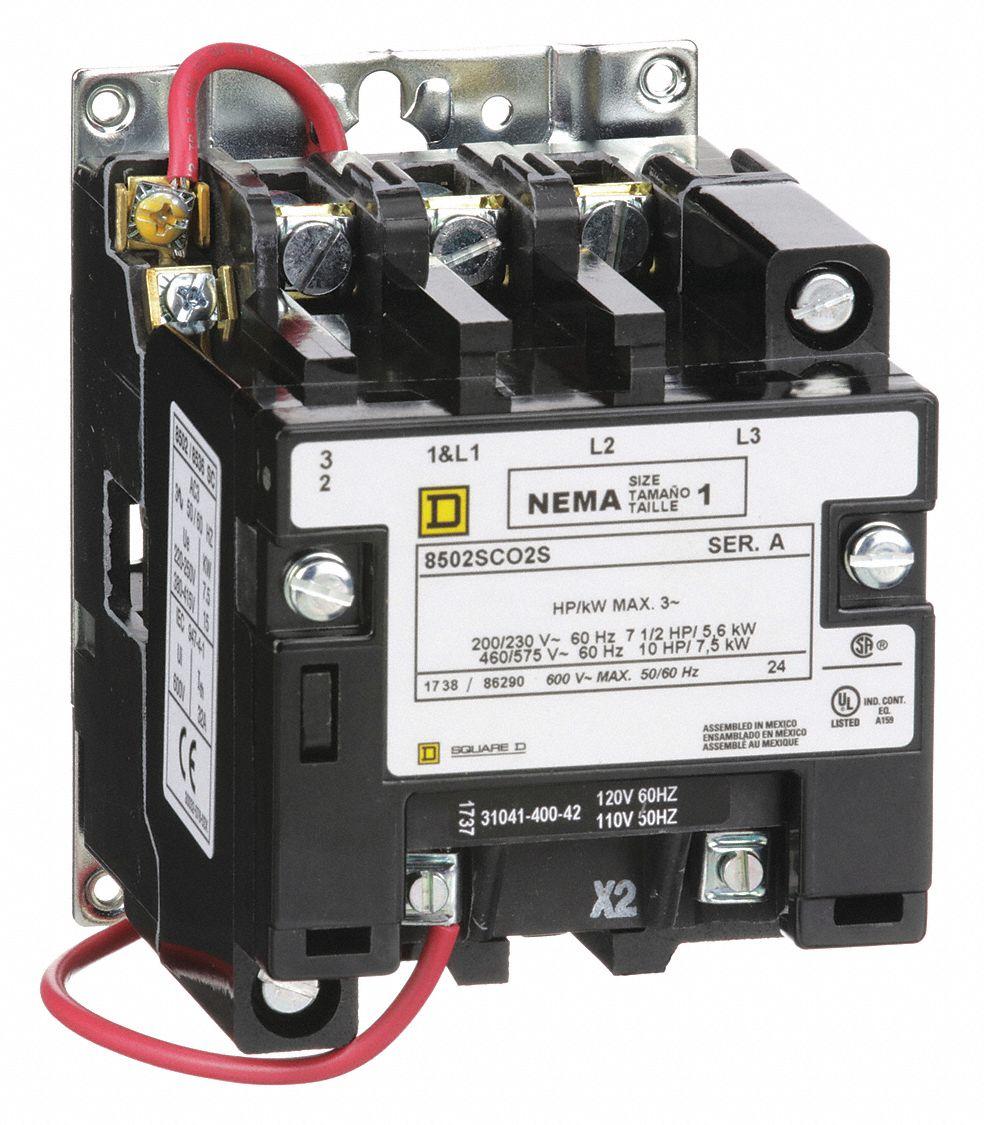 medium resolution of square d 120vac nema magnetic contactor no of poles 3 reversing nema 3 phase contactor wiring