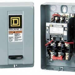 Single Phase 220v Wiring Diagram Corsa D Stereo Square Magnetic Motor Starter,nema,120v,3p,18a - 1h483|8536sbg2v02s Grainger