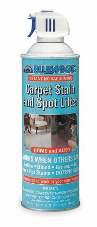 BLUE MAGIC Carpet Spot/Stain Lifter, 22 Oz, Aerosol ...