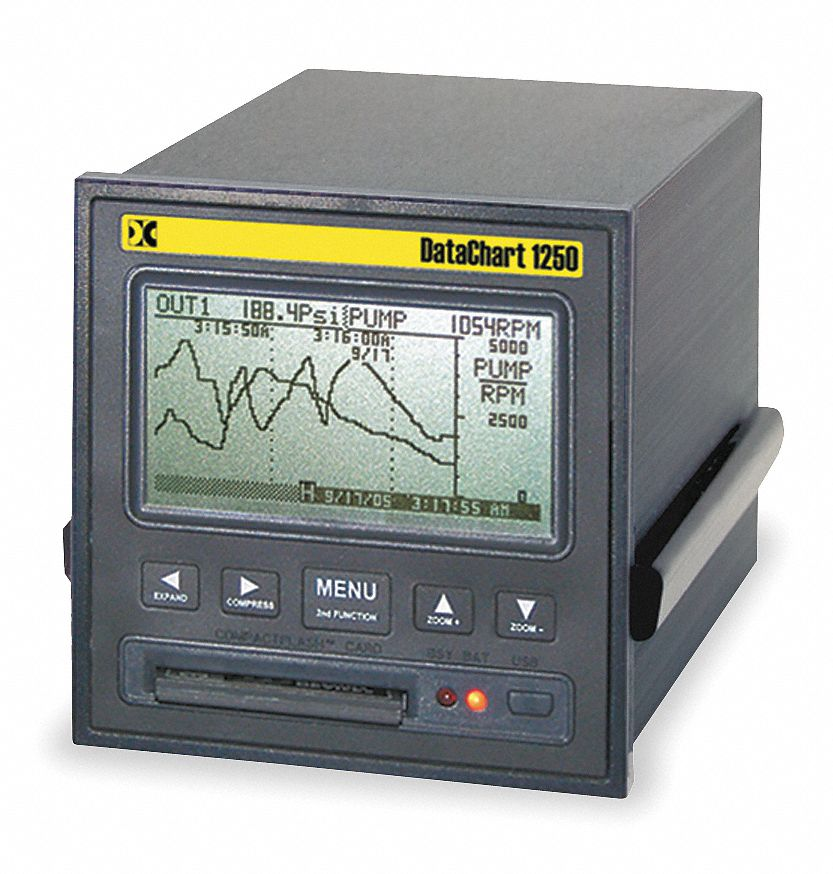 Paperless recorder power to vac also chart data recording grainger industrial supply rh