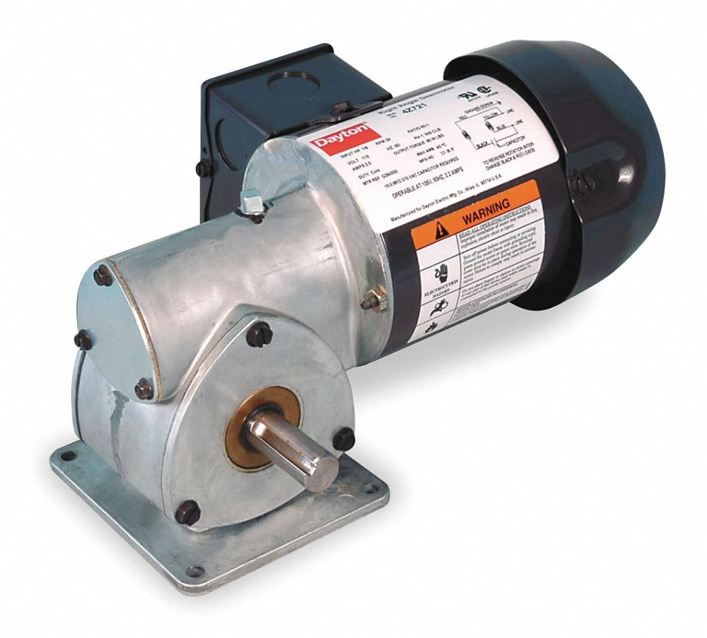 medium resolution of dayton ac gearmotor 115 nameplate rpm 29 max torque 85 0 in lb