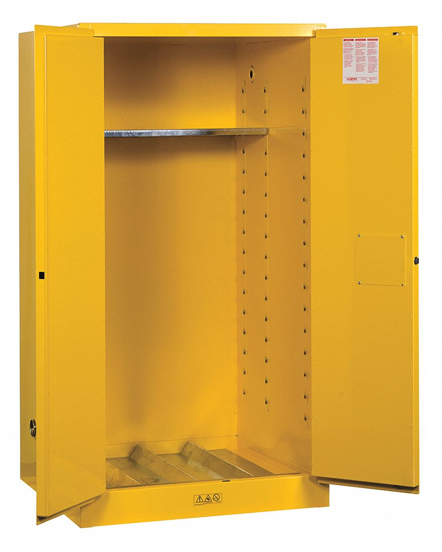 JUSTRITE 55 gal Hazardous Waste and Drum Storage Cabinet