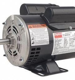 dayton 3 4 hp general purpose motor capacitor start run 1725 nameplate rpm voltage 115 208 230 frame 56 31tr72 31tr72 grainger [ 1125 x 866 Pixel ]