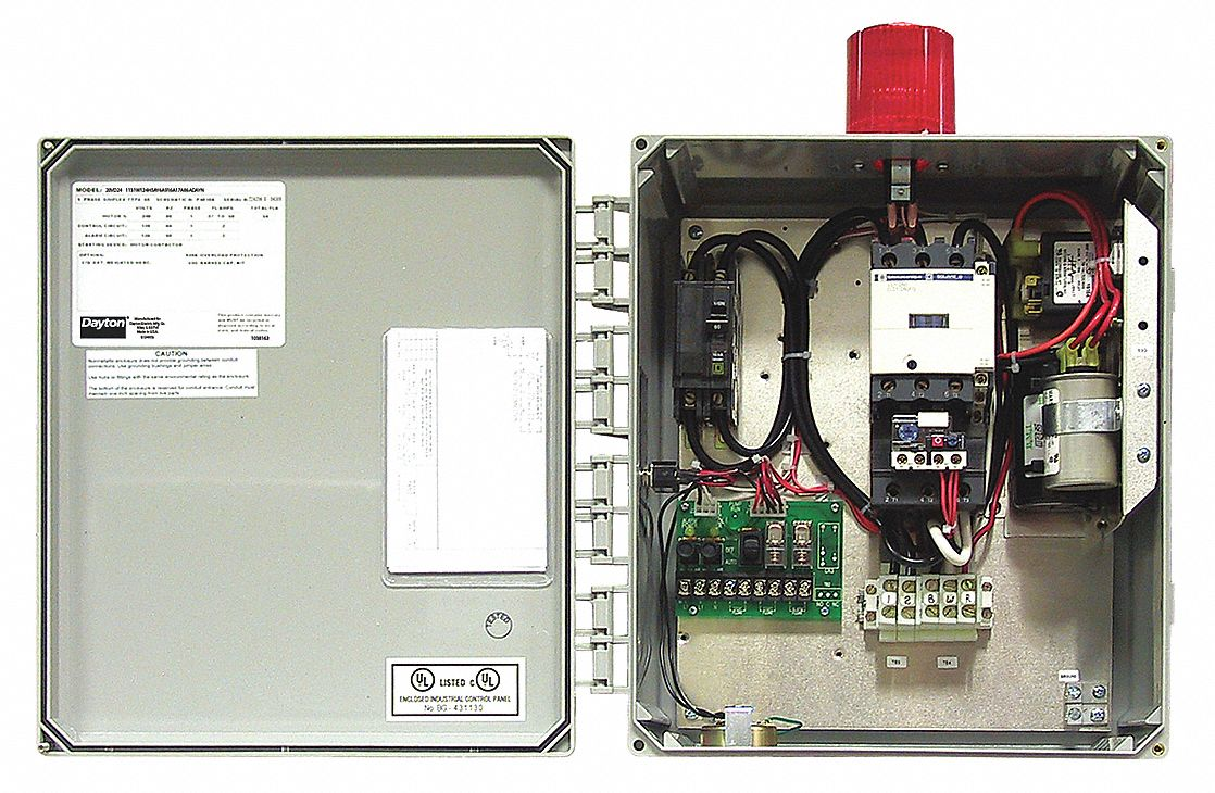 zoeller duplex pump control panel wiring diagram switch boxes controls grainger industrial supply simplex 240v 48 to 65 amps