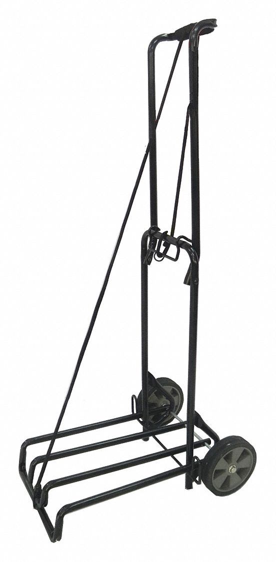 GRAINGER APPROVED Luggage Cart, Continuous Frame, 125 lb