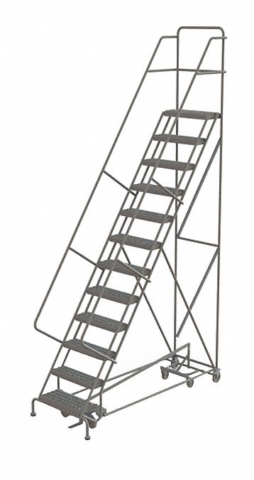 TRI-ARC 12-Step All Direction Ladder, Perforated Step