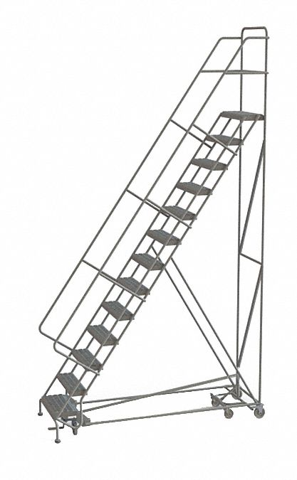 TRI-ARC 13-Step All Direction Ladder, Perforated Step