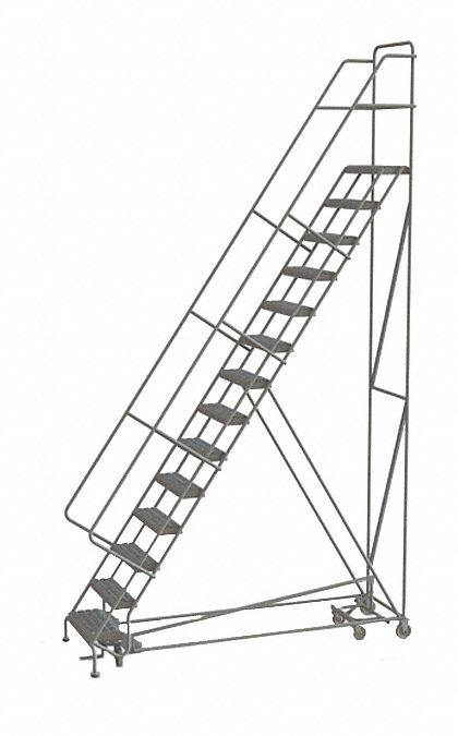 TRI-ARC 14-Step All Direction Ladder, Perforated Step