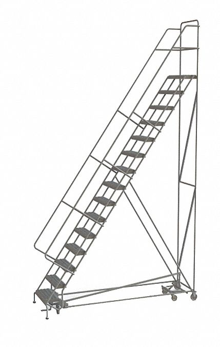 TRI-ARC 15-Step All Direction Ladder, Perforated Step