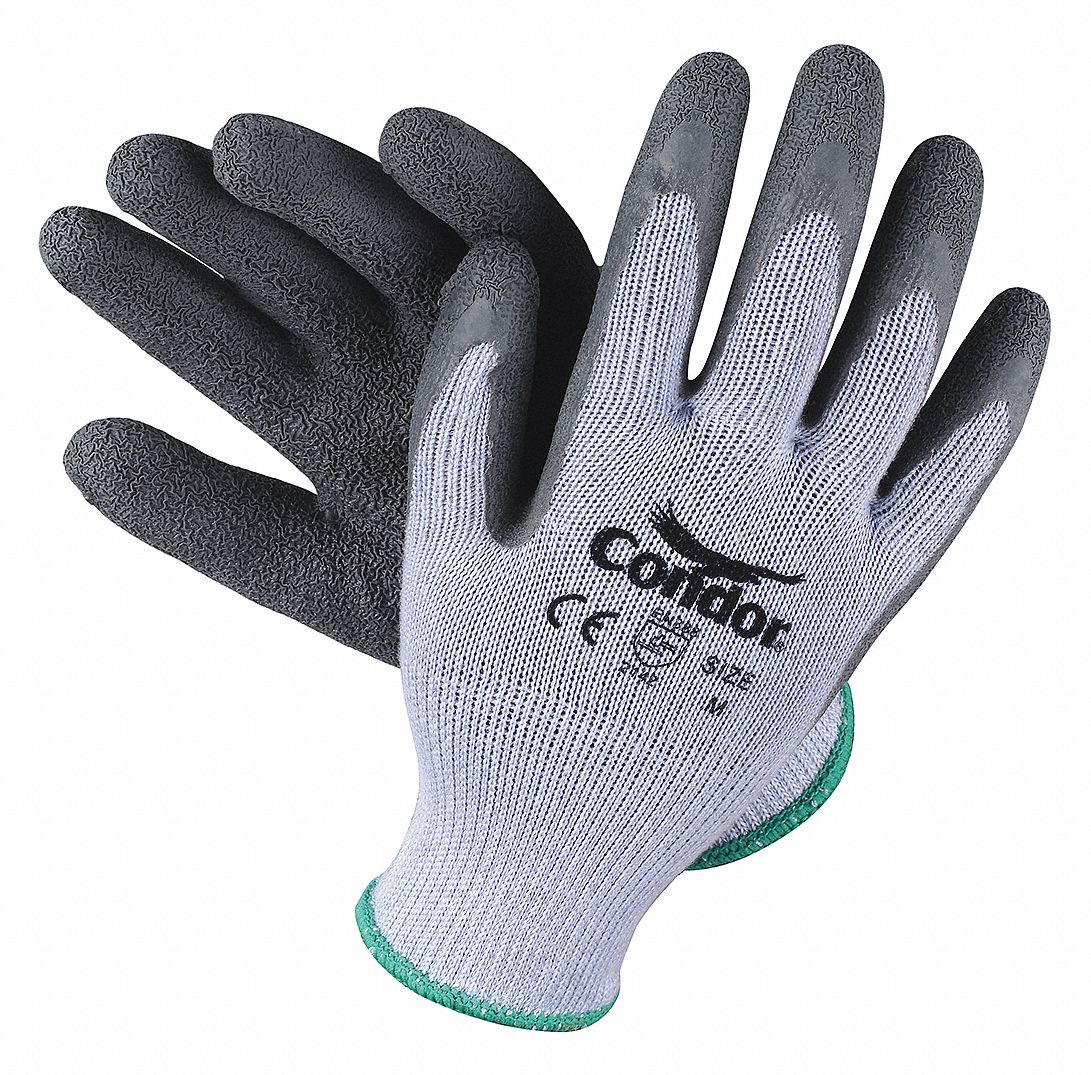 CONDOR Natural Rubber Latex Cut Resistant Gloves ANSI