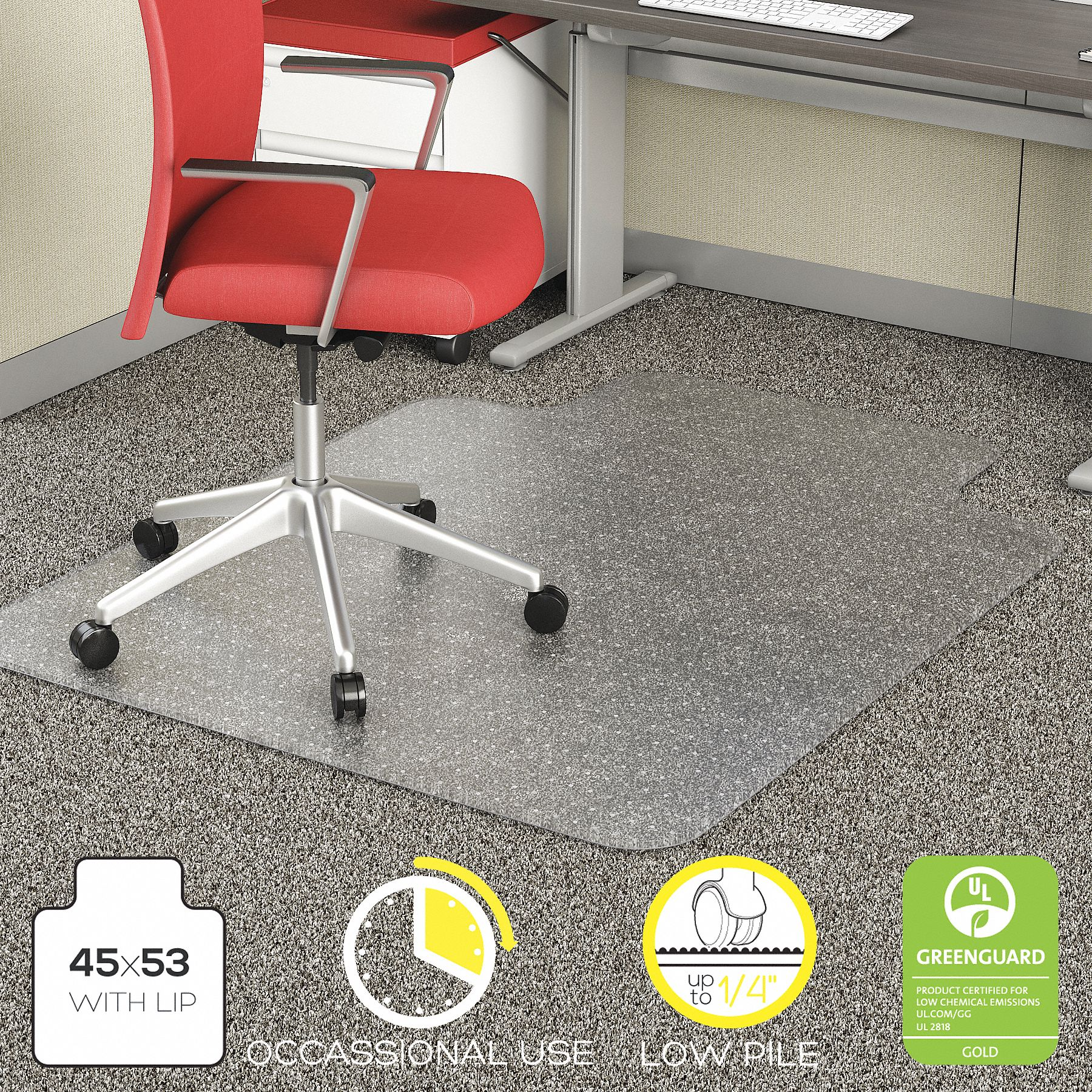 carpet chair mats flip flop office seating grainger industrial supply traditional lip mat clear for with padding up to 1 4 thick
