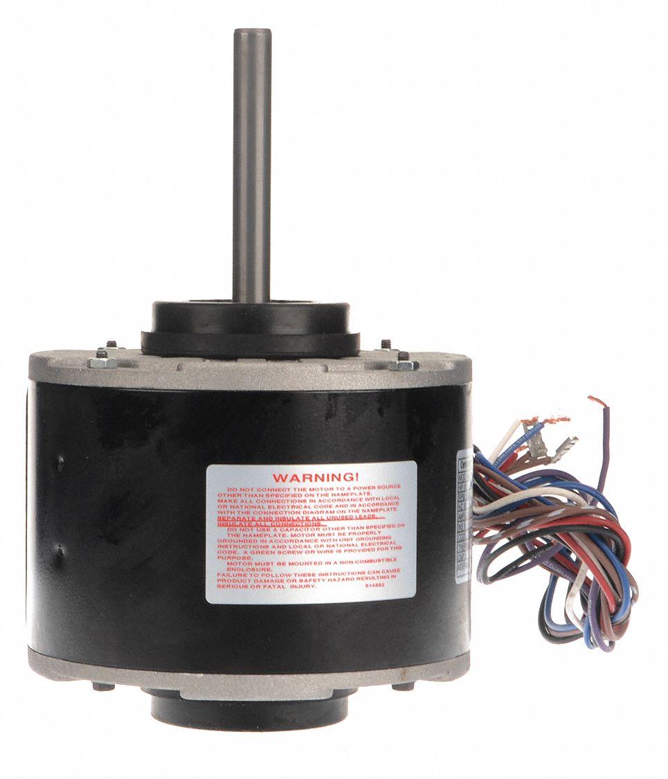 medium resolution of century 1 6 hp direct drive blower motor permanent split capacitor 1050 nameplate rpm 115 208 230 voltage 2cdu1 494b grainger