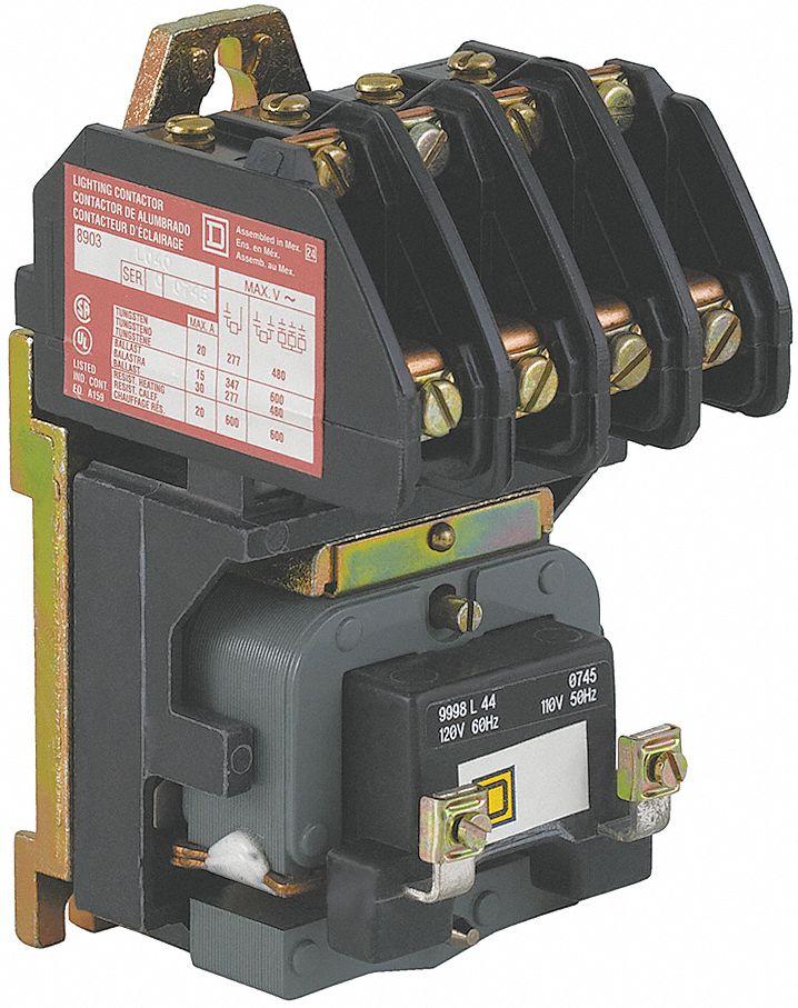 wiring diagram for square d lighting contactors tekonsha voyager brake controller contactr,4p,120v,open,elecheld - 2cg65|8903lo40v02 grainger