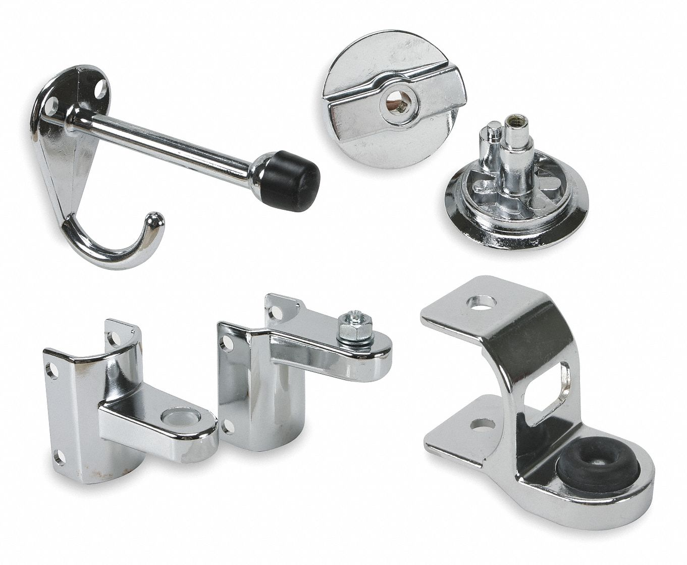 GLOBAL PARTITIONS Concealed Latch Door Set For Steel