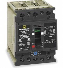 square d circuit breaker 7 amps number of poles 3 347 600vac ac voltage rating 2jwu2 gjl36007m02 grainger [ 989 x 1184 Pixel ]