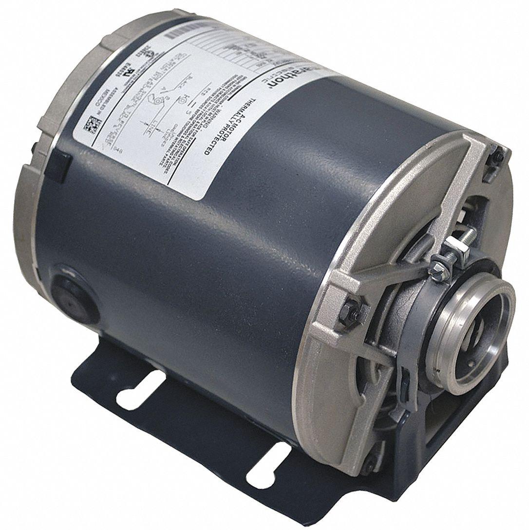MARATHON MOTORS 12 HP Split Phase Carbonator Pump Motor