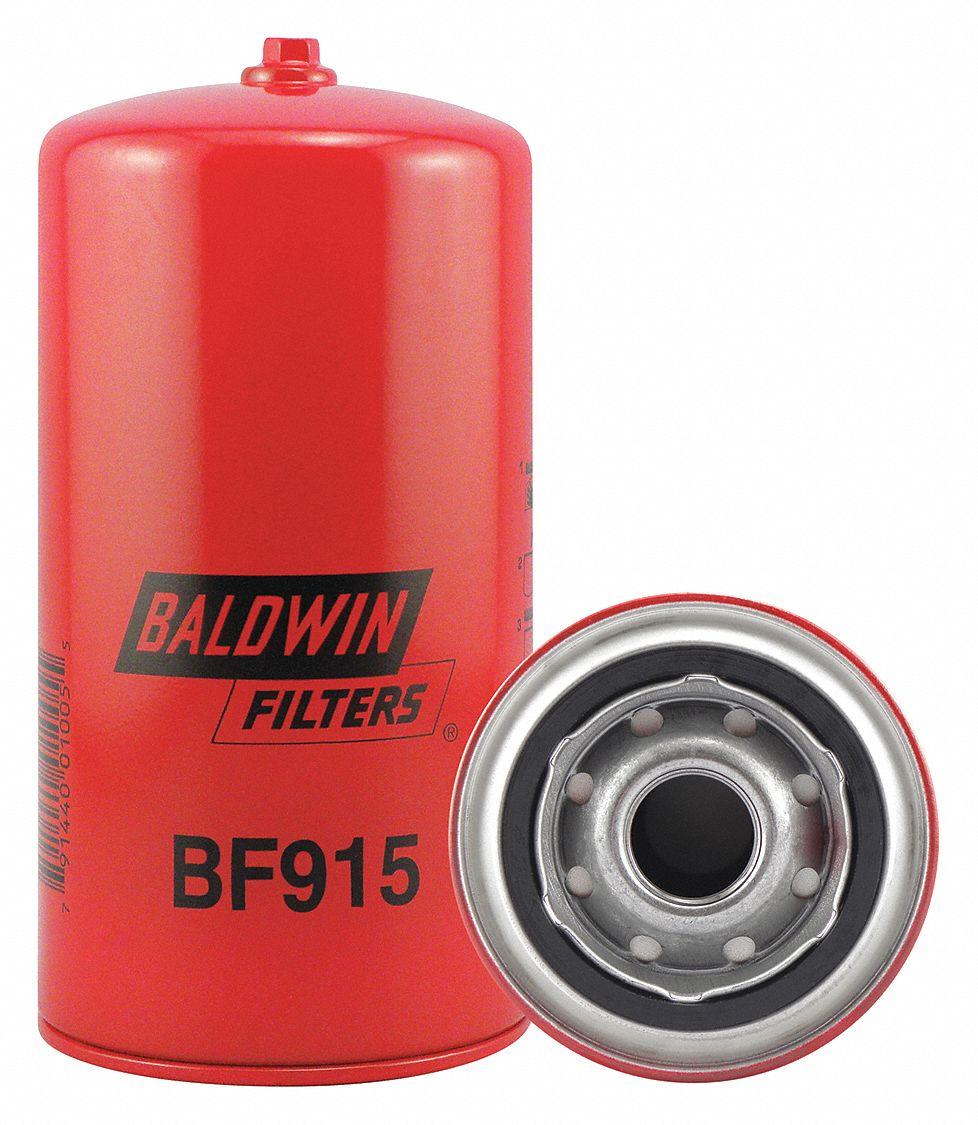 medium resolution of baldwin filters fuel filter spin on filter design 2kyp5 bf915 grainger