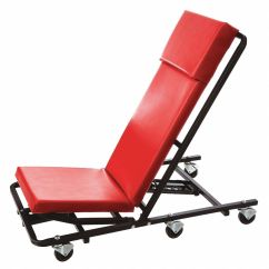 Ergonomic Chair Grainger Folding Size Whiteside 44 Quot X 17 Creeper With 6 Wheels And 570 Lb Load