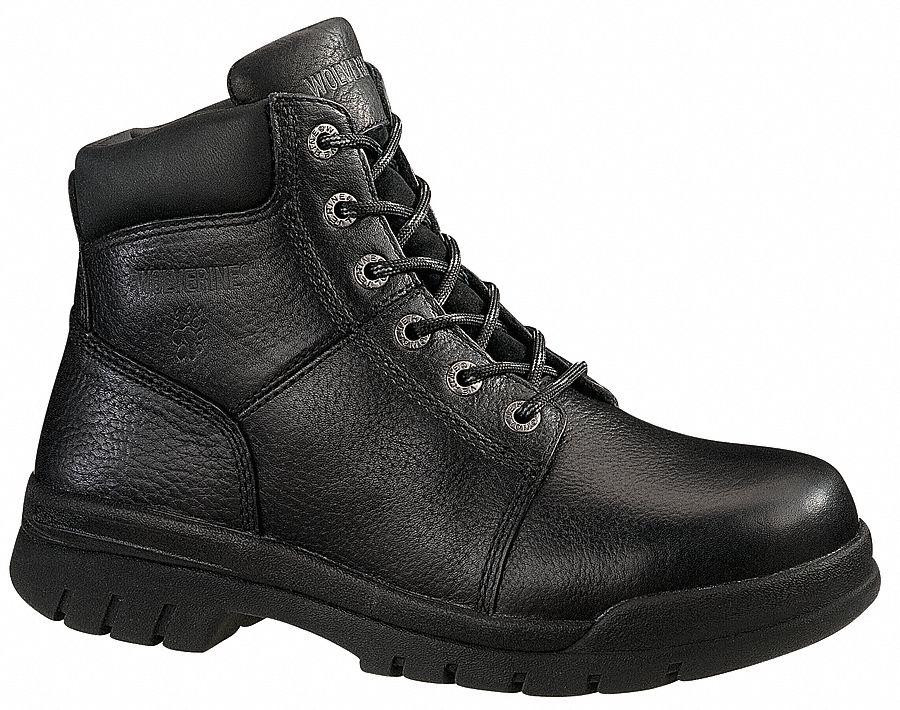 Wolverine 6 Quot Height Men S Work Boots Steel Toe Type