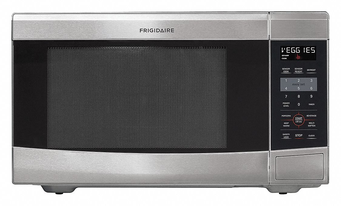 stainless steel microwave 1 6 cu ft 120 v
