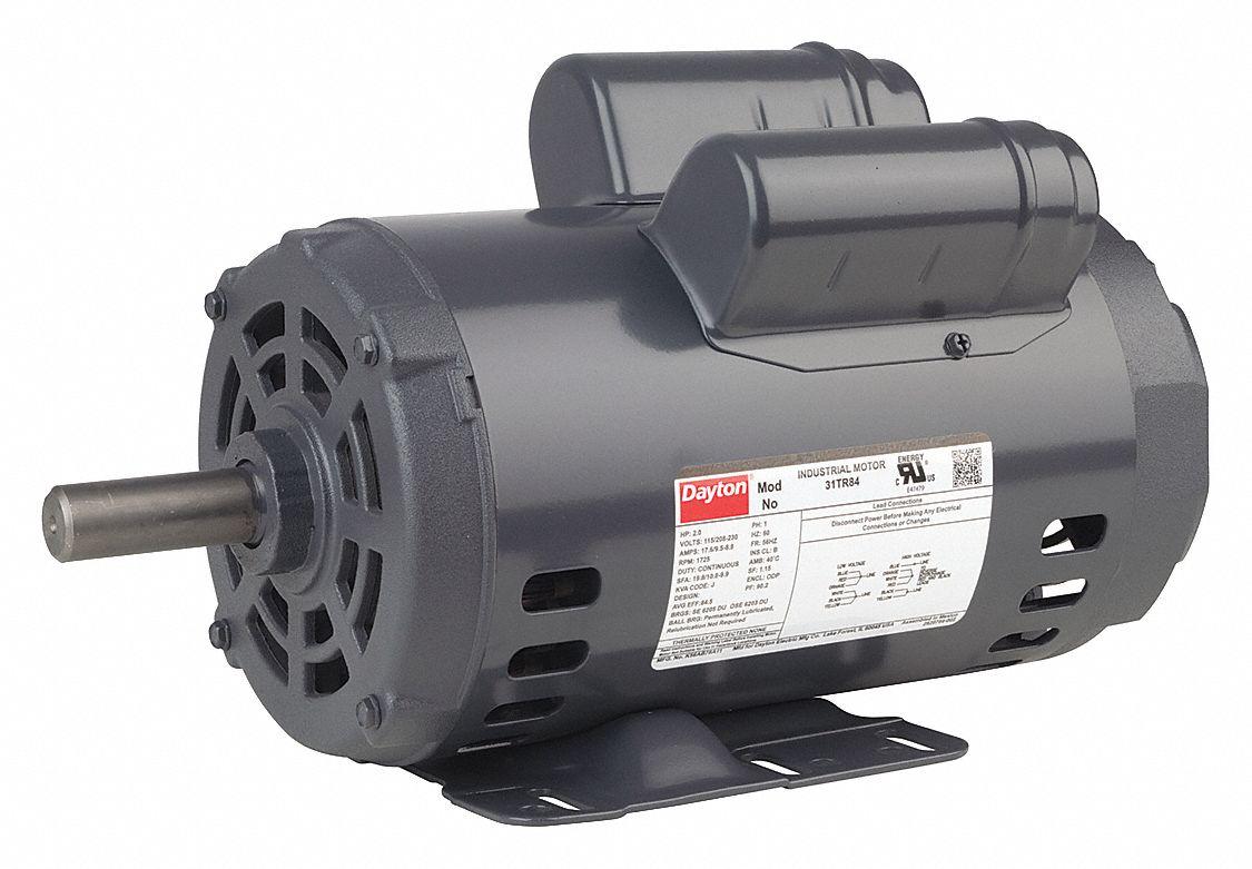 reversible ac motor wiring diagram symbols used in electrical diagrams dayton 5 hp