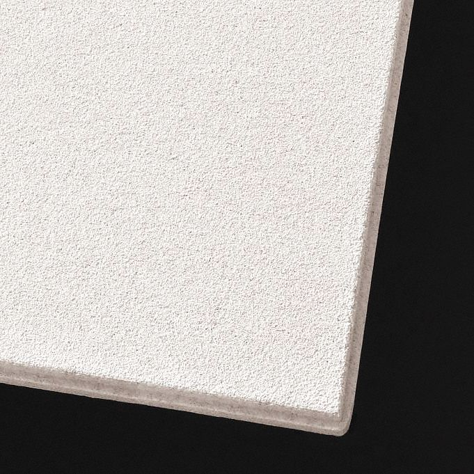 ceiling tile width 24 in length 24 in 3 4 in thickness mineral fiber pk 12