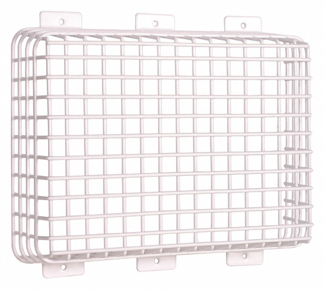 SAFETY TECHNOLOGY INTERNATIONAL Wire Cage, Coated Steel
