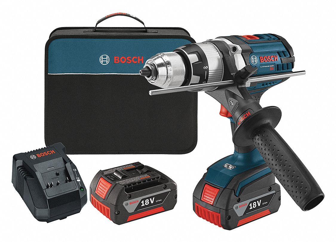 BOSCH 12 Cordless Hammer DrillDriver Kit 180 Voltage