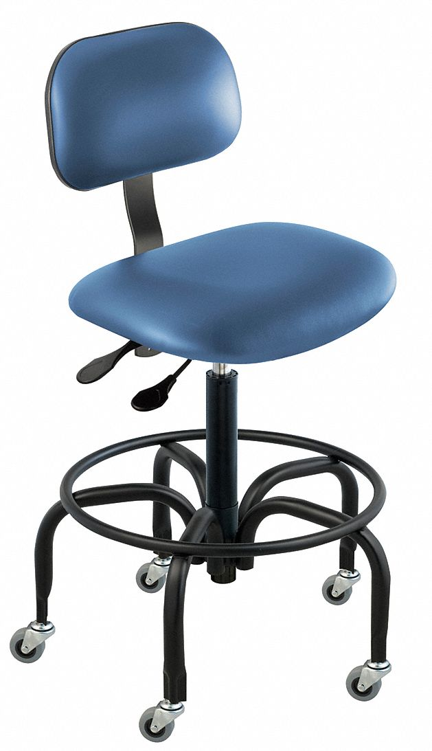 ergonomic chair grainger and half slipcover t cushion biofit vinyl with 19