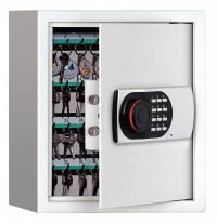 GRAINGER APPROVED Key Cabinet, Digital Lock 64 Keys ...