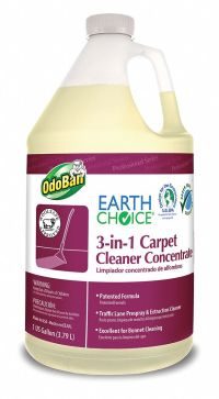 ODOBAN 1 gal. Carpet Cleaner Concentrate 3in1, 4 PK ...