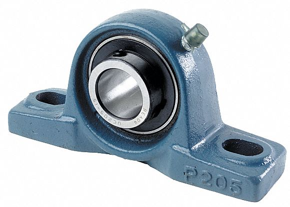 pillow block bearing number of bolts 2 ball bearing type 1 in bore dia