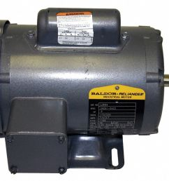 baldor electric 7 1 2 hp general purpose motor capacitor start run 3450 nameplate rpm voltage 230 frame 213t 38g443 l3709t grainger [ 1087 x 790 Pixel ]