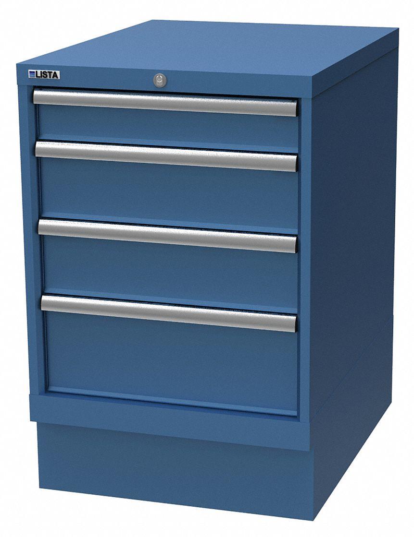 LISTA Modular Workbench Cabinet Steel 3312 Height 22