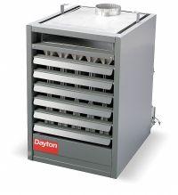 DAYTON Gas Unit Heater, NG, Propeller, BtuH Input 75,000 ...