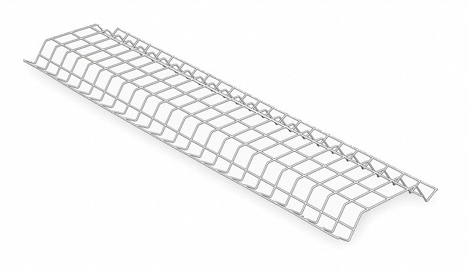 LITHONIA LIGHTING Wire Guard, Steel, White, For Use With L