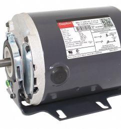 dayton 1 3 hp belt drive motor split phase 1725 nameplate rpm 115 voltage frame 48 3k384 3k384 grainger [ 1125 x 844 Pixel ]