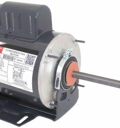 dayton 1 2 hp condenser fan motor permanent split capacitor 825 nameplate rpm 230 voltage frame 56yz 3m295 3m295 grainger [ 2000 x 1336 Pixel ]