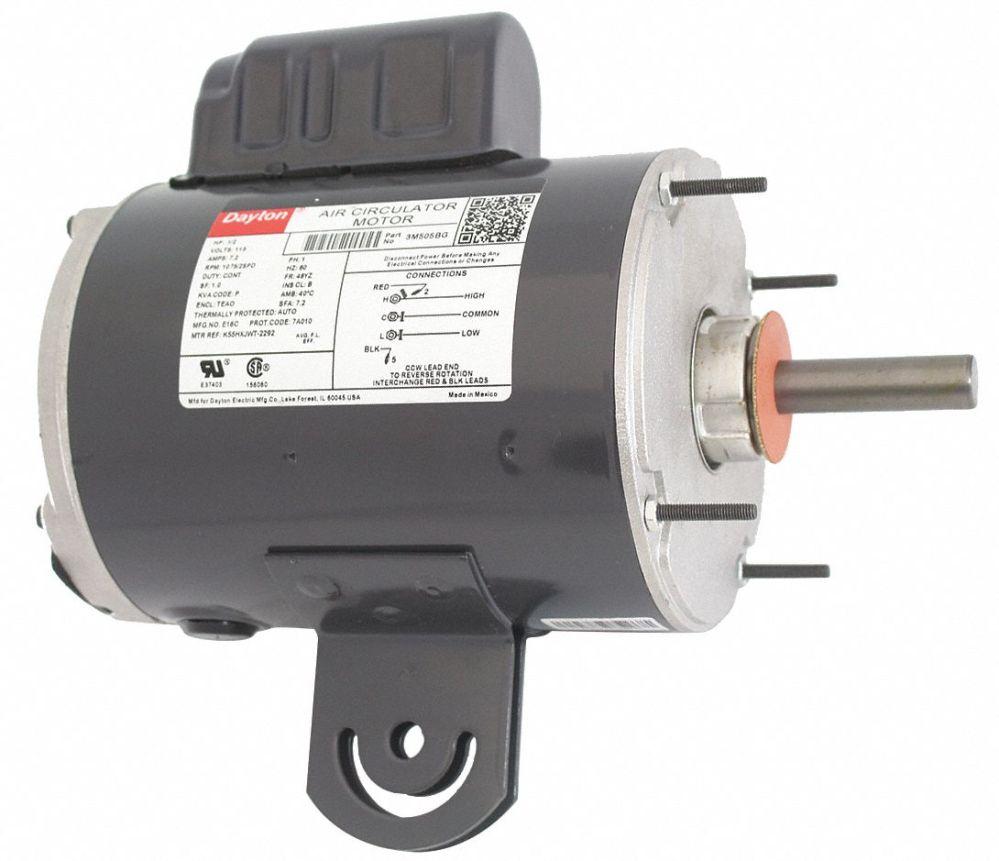 medium resolution of dayton 1 2 hp pedestal fan motor permanent split capacitor 1075 nameplate rpm 115 voltage frame 48yz 3m505 3m505 grainger