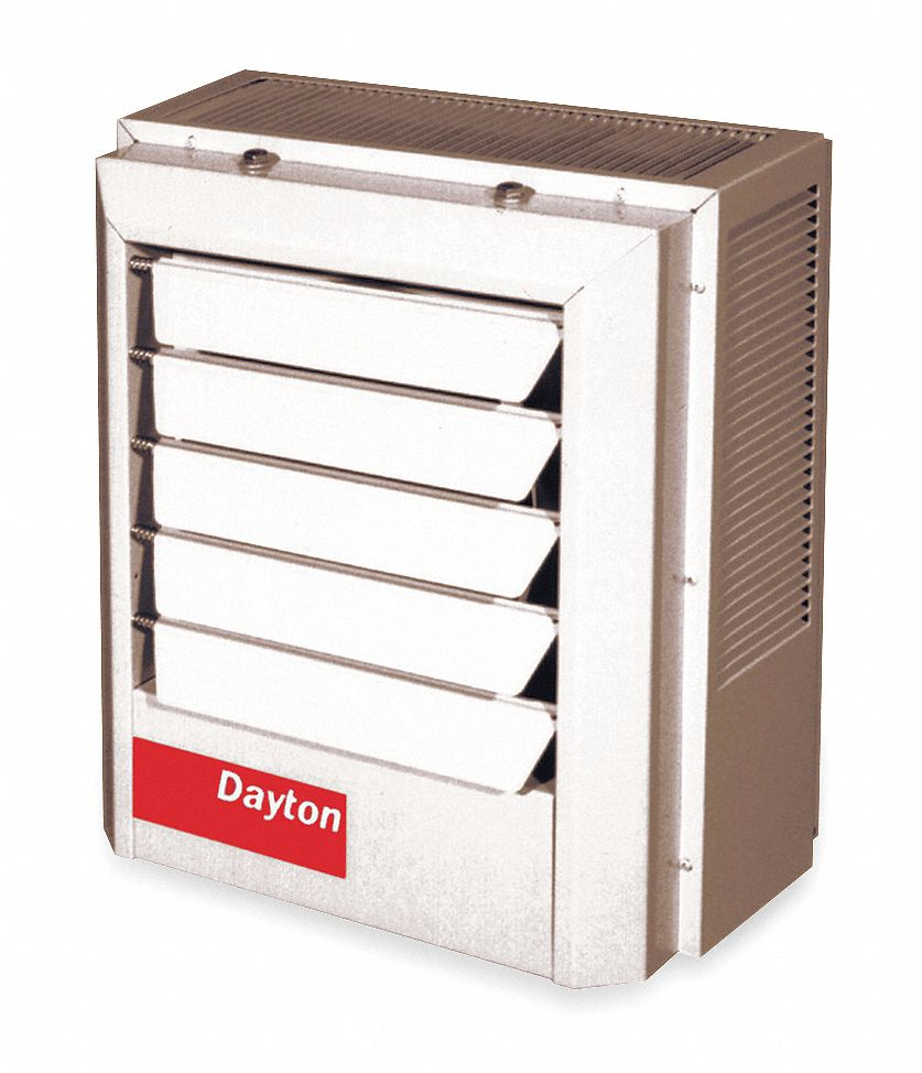 medium resolution of dayton electric unit heater vertical or horizontal 208 240vac 7 5 10 0 kw 1 or 3 phase 2yu69 2yu69 grainger