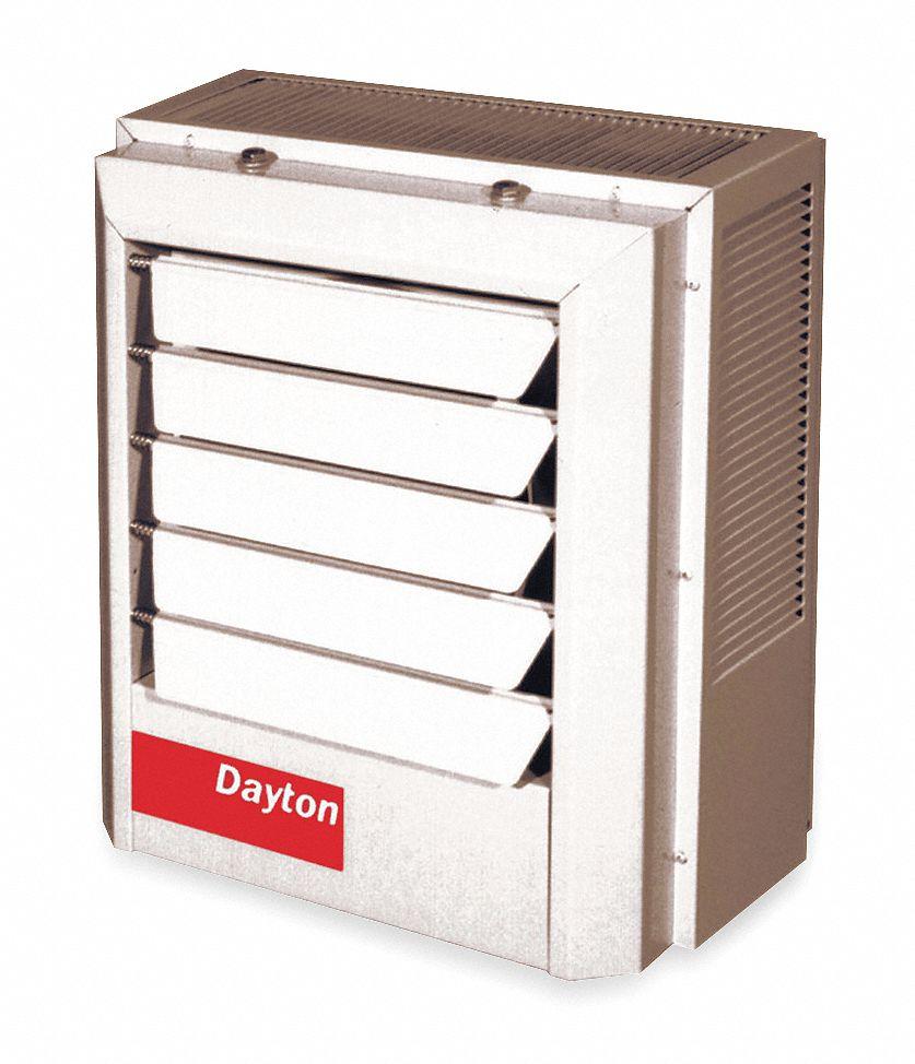 hight resolution of dayton electric unit heater vertical or horizontal 208 240vac 7 5 10 0 kw 1 or 3 phase 2yu69 2yu69 grainger